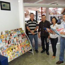 Cinep recebe revisteca que visa incentivo à leitura