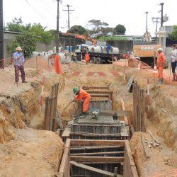 Governo do Estado realiza obras de infraestrutura no Distrito Industrial de Mangabeira