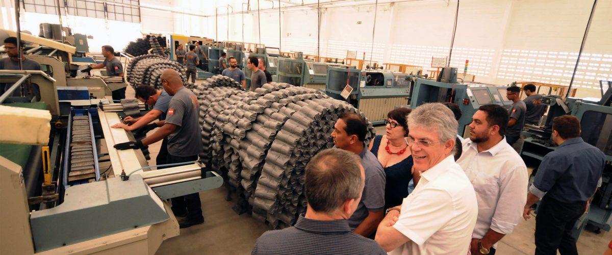 Fabricante de molejos de colchões instala unidade no Conde e cria 100 empregos diretos
