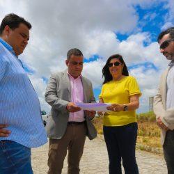 Governadora em exercício visita Parque Industrial de Caaporã