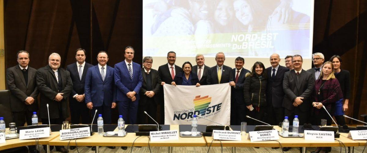 Na França, governadores do Nordeste apresentam oportunidades de negócios a 40 empresas