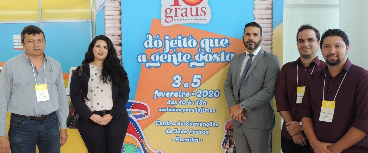 Governo do Estado prestigia de feira de calçados em João Pessoa e apresenta números positivos da Paraíba no setor