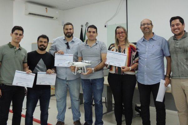 CINEP participa de workshop sobre o uso de drones no serviço público