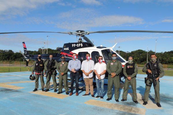 Governo do Estado realiza sobrevoo para vistoria técnica na área do Polo Turístico Cabo Branco